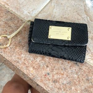 Michael Kors key and wallet pouch